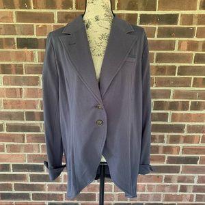 NWOT Soft Surroundings grey tunic jacket